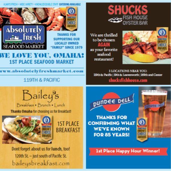 omaha choice awards ad